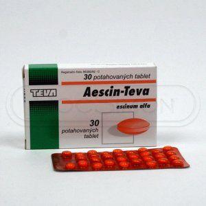 Aescin-Polfa 20 mg 30 tablet cena od 70 Kč