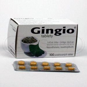 Gingio tablety 40 mg 100 tablet cena od 196 Kč
