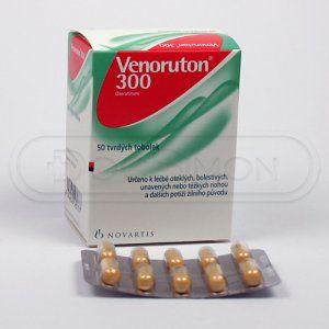 Venoruton 300 300 mg 50 kapslí cena od 160 Kč