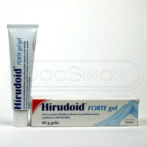 Hirudoid Forte gel 40 g cena od 73 Kč
