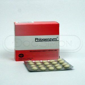 Phlogenzym 100 tablet cena od 686 Kč