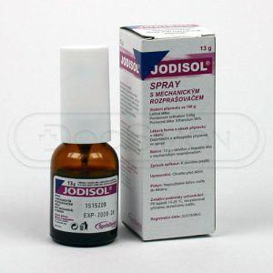 Jodisol Spray 13 g cena od 47 Kč