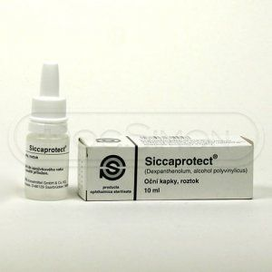 Siccaprotect 10 ml cena od 67 Kč
