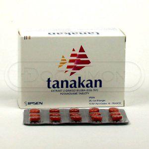Tanakan 40 mg 90 tablet cena od 168 Kč