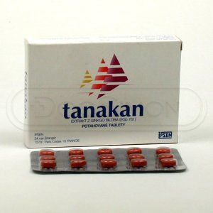 Tanakan 40 mg 30 tablet