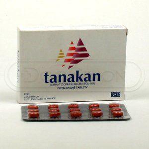 Tanakan 40 mg 30 tablet cena od 123 Kč