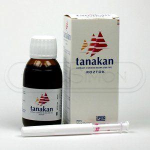 Tanakan roztok 90 ml cena od 199 Kč