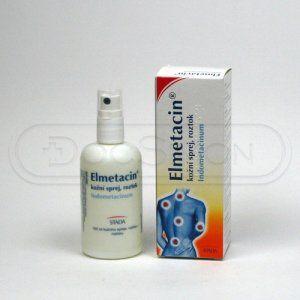 Elmetacin sprej 1%  100 ml cena od 88 Kč