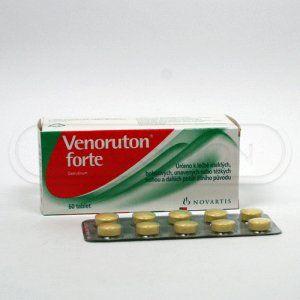 Venoruton forte 500 mg 60 tablet cena od 298 Kč