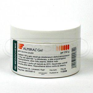 Almiral gel 250 g cena od 141 Kč