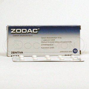 Zodac 10 mg 10 tablet cena od 62 Kč