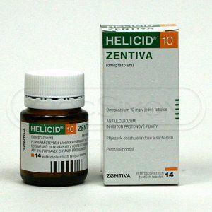 Helicid 10 10 mg 14 kapslí cena od 109 Kč