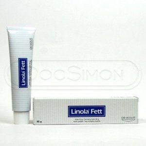 Linola-Fett mast 50 g cena od 97 Kč