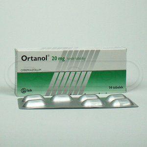 Ortanol 20 mg 14 kapslí