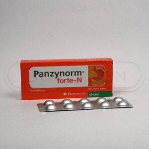 Panzynorm forte-N 10 tablet cena od 41 Kč
