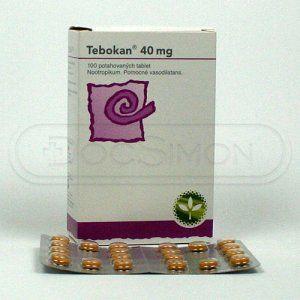 Tebokan 40 mg 100 tablet cena od 191 Kč