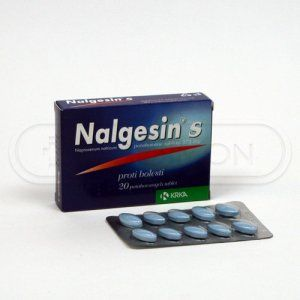 XXL obrazek Nalgesin S 275 mg 20 tablet