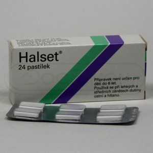 Halset 1,5 mg 24 pastilek cena od 67 Kč