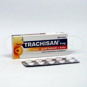 Trachisan 8 mg 20 pastilek cena od 79 Kč