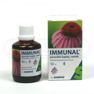 Immunal kapky 50 ml cena od 110 Kč