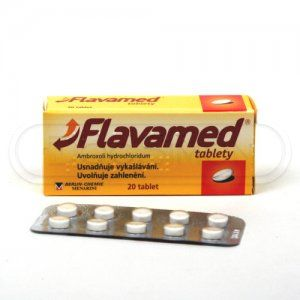 FLAVAMED 30 mg 20 tablet cena od 30 Kč