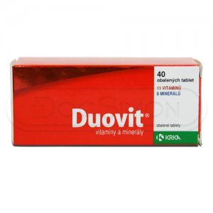 Duovit 40 tablet cena od 45 Kč