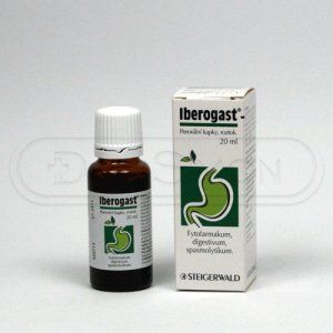 IBEROGAST kapky 50 ml cena od 337 Kč