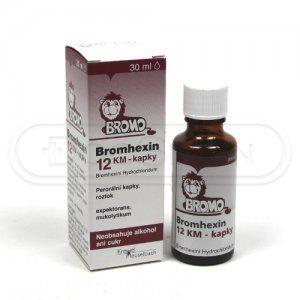Bromhexin 12 KM kapky 30 ml cena od 54 Kč