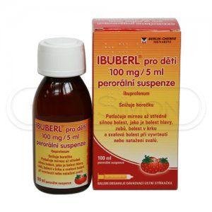 IBUBERL suspenze 100 ml