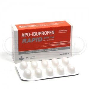 APO-IBUPROFEN Rapid 400 mg 10 tablet