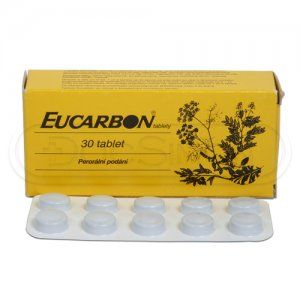 EUCARBON 30 tablet cena od 91 Kč