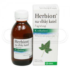 HERBION sirup 150 ml cena od 0 Kč