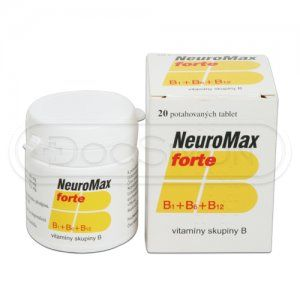 Neuromax Forte 20 tablet cena od 94 Kč