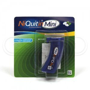NIQUITIN MINI 4 mg 20 pastilek