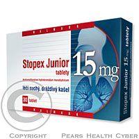 STOPEX JUNIOR 15 mg 30 tablet cena od 0 Kč