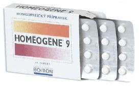 HOMEOGENE 9 60 tablet cena od 97 Kč
