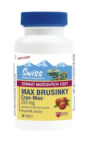 Swiss MAX BRUSINKY 8500 mg 30 tablet cena od 161 Kč