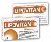 LIPOVITAN 180 tablet cena od 280 Kč