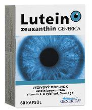 Lutein-zeaxanthin 60 kapslí cena od 213 Kč