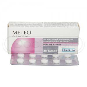 Meteo 30 tablet cena od 52 Kč
