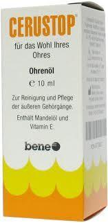 Cerustop ušní olej 10 ml cena od 84 Kč