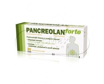 XXL obrazek PANCREOLAN FORTE 220 mg 30 tablet
