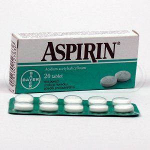 Aspirin 20 tablet cena od 86 Kč