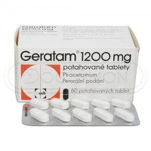 Geratam 1200 mg 60 tablet cena od 124 Kč