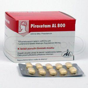 PIRACETAM AL 800 mg 100 tablet