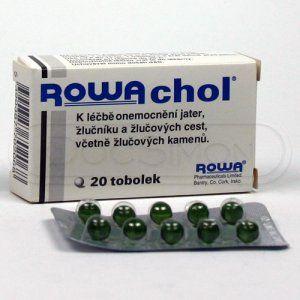 Rowachol 20 tablet cena od 131 Kč