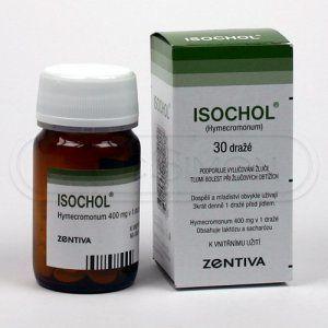 Isochol 400 mg 30 tablet cena od 104 Kč