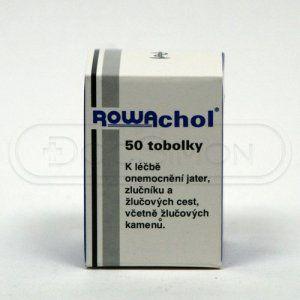 Rowachol 50 tablet cena od 215 Kč