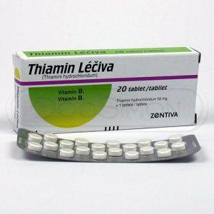 Thiamin 20 tablet cena od 41 Kč