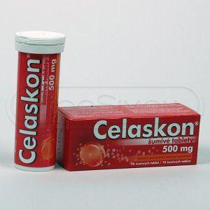 CELASKON červený pomeranč 500 mg 10 tablet cena od 50 Kč
